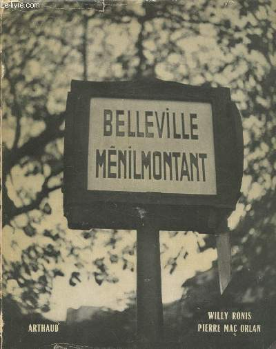 Belleville - Ménilmontant (Colleciton :