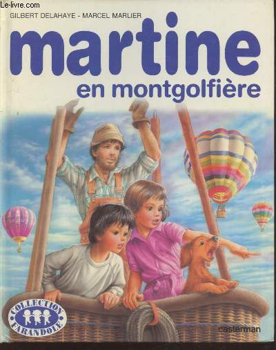 Martine en montgolfière (Collection :