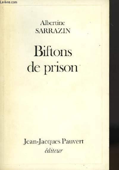 BIFTONS DE PRISON