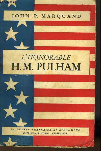 L'HONORABLE  H. M. PULHAM