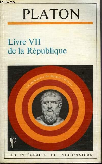 LIVRE VII DE LA REPUBLIQUE