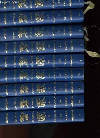 HISTOIRE D'AMOUR ET DE L'HISTOIRE DE FRANCE - EN 17 VOLUMES