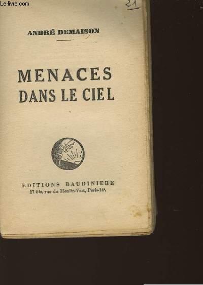 MENACES DANS LE CIEL