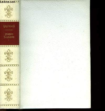 JOSEPH BALSAMO - TOME 1