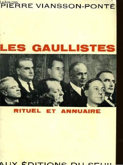LES GAULLISTES RITUEL ET ANNUAIRE
