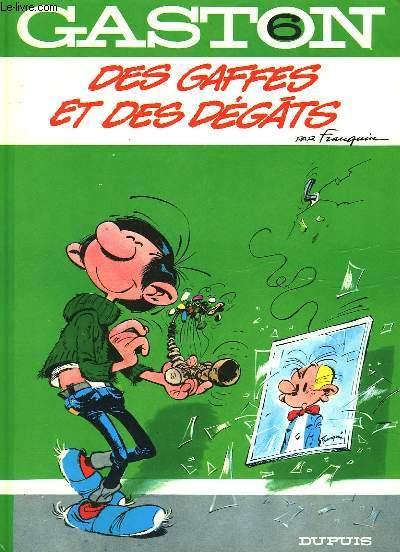 GASTON N°6 - DES GAFFES ET DES DEGATS