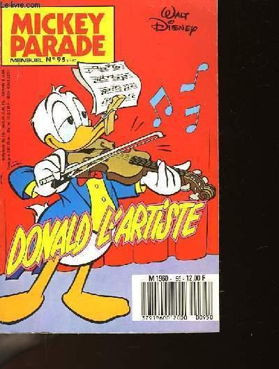 MICKEY PARADE N�95 - DONALD L'ARTISTE