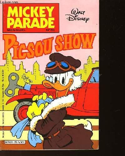 MICKEY PARADE NO°70 - PISCOU SHOW