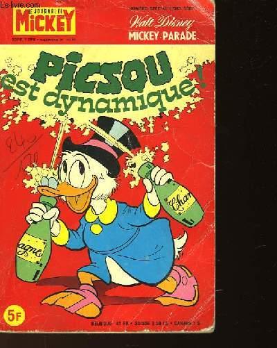LE JOURNAL DE MICKEY - NUMERO1363 BIS - SPECIAL HORS SERIE - PISCOU EST DYNAMIQUE !