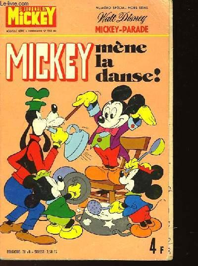LE JOURNAL DE MICKEY - NUMERO 1208 BIS - NUMERO SPECIAL HORS SERIE - MICKEY MENE LA DANSE !