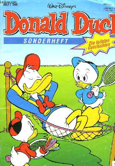 DONALD DUCK HEFT 144
