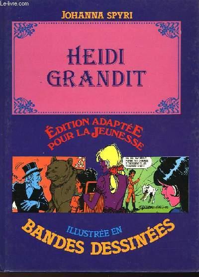 HEIDI GRANDIT - ILLUSTRE EN BANDES DESSINEES