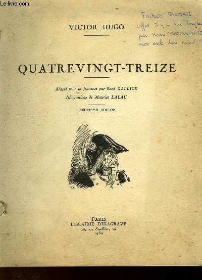 QUATRE VINGT-TREIZE