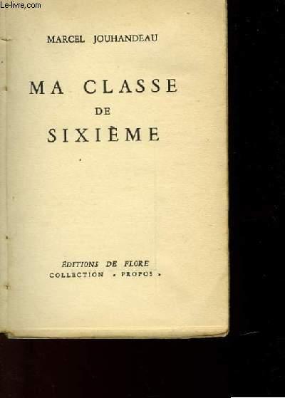 MA CLASSE DE SIXIEME