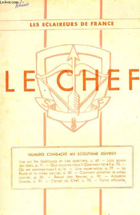 LE CHEF N° 244 MARS 1944