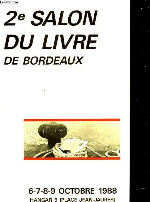 2) SALON DU LIVRE DE BORDEAUX