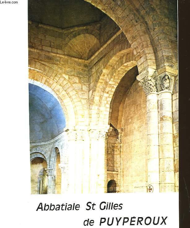 ABBATIALE ST GILLES DE PUYPEROUX