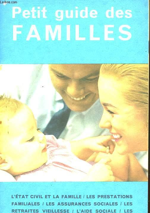 PETIT GUIDE DES FAMILLES