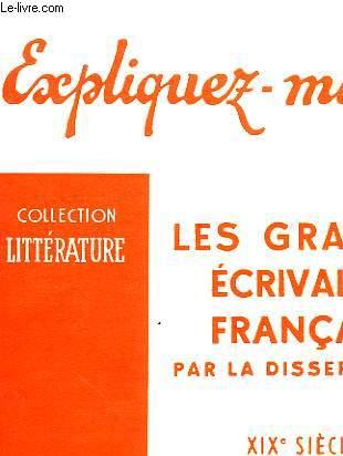 LES GRANDS ECRIVAINS FRANCAIS - TOME II POESIE ET THEATRE ROMANTIQUES