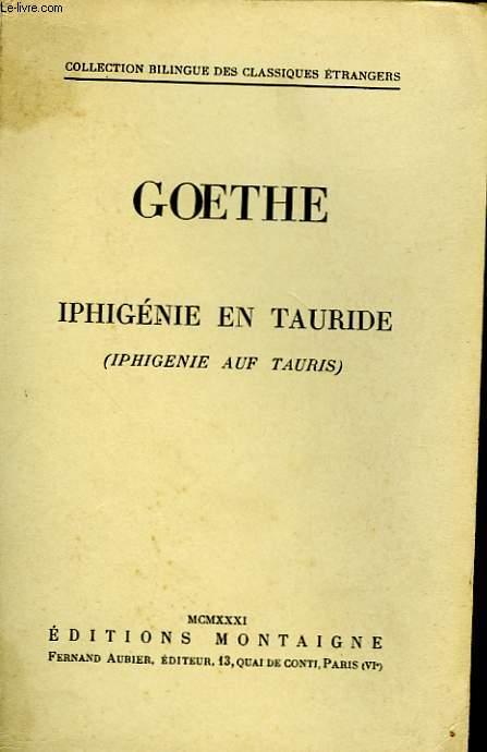 IPHIGENIE EN TAURIDE - IPHIGENIE AUF TAURIS