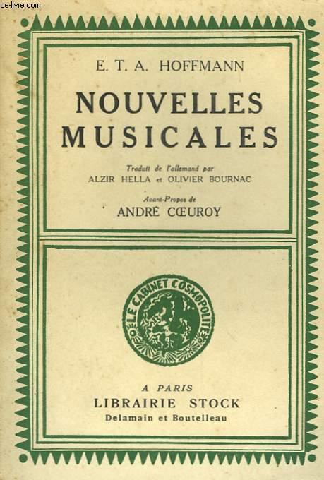 NOUVELLES MUSICALES
