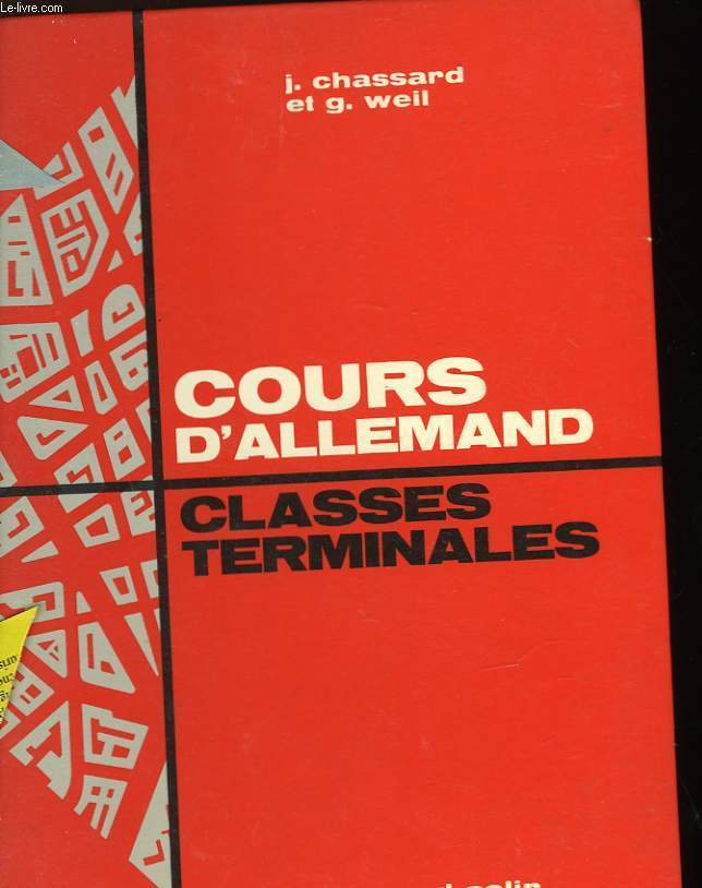 COURS D'ALLEMAND - CLASSES DE TERMINALES