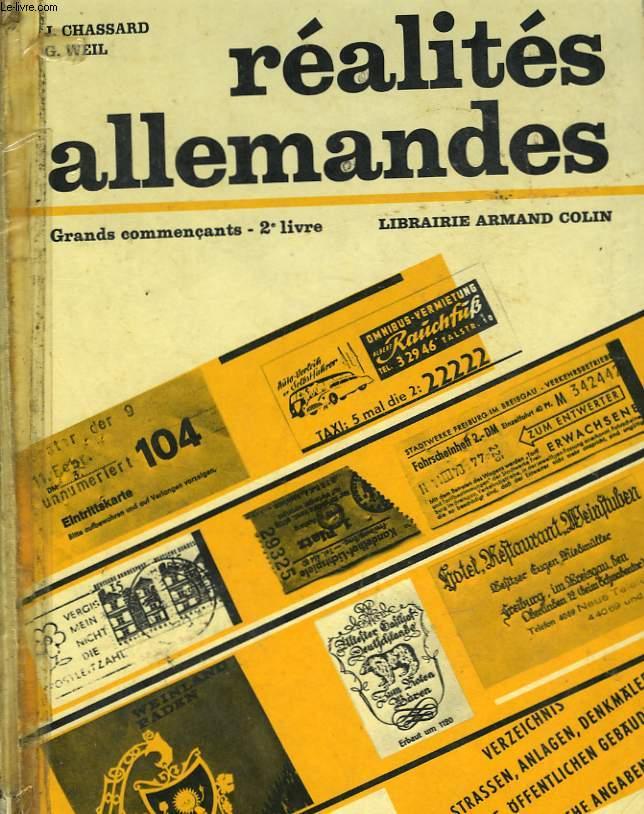 REALITES ALLEMANDES - GRANDES COMMERCANTS - 2° LIVRE
