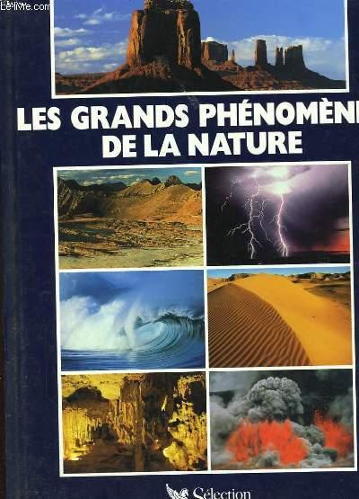 LES GRANDS PHENOMENES DE LA NATURE