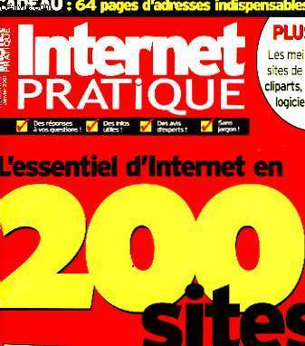 INTERNET PRATIQUE - 200 SITES