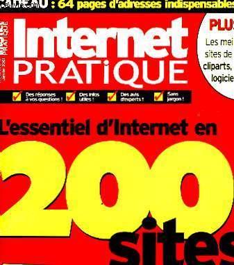 INTERNET PRATIQUE - 200 SITES