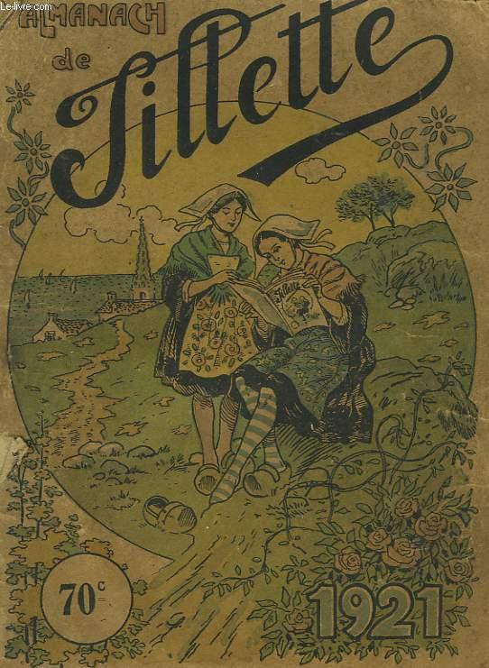 ALMANACH DE TILLETTE