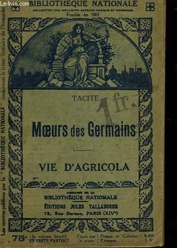 MEOURS DES GERMAINS - VIE D'AGRICOLA