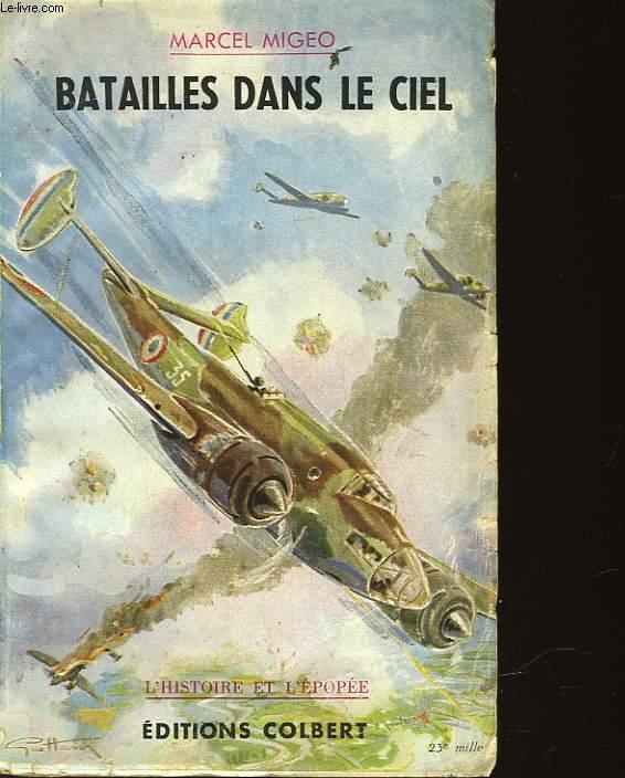 BATAILLES DANS LE CIEL