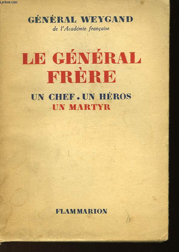 LE GENERAL FRERE
