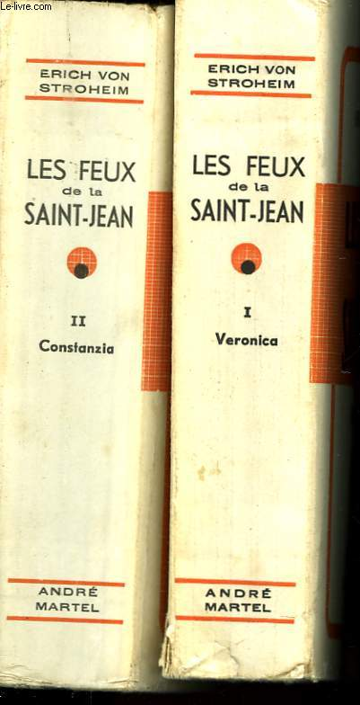 LES FEUX DE LA SAINT-JEAN - 2 TOMES