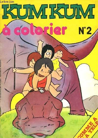 KUMKUM A COLORIER N°2