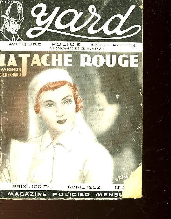 LA TACHE ROUGE - MURDER BY ARISTOCRAT