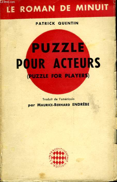PUZZLE POUR ACTEURS - PUZZLE FOR PLAYERS