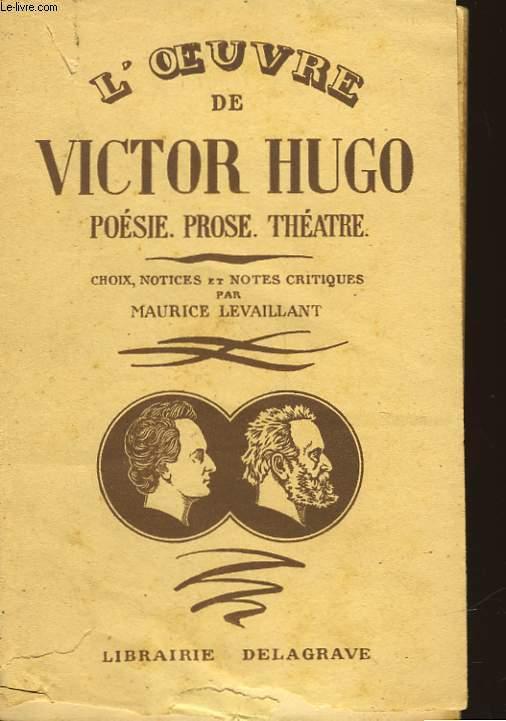 L'OEUVRE DE VICTOR HUGO