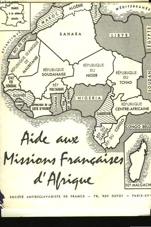 AIDE AUX MISSIONS FRANCAISES D'AFRIQUE