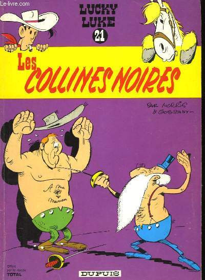 LUCKY LUKE N° 21 - LES COLLINES NOIRES