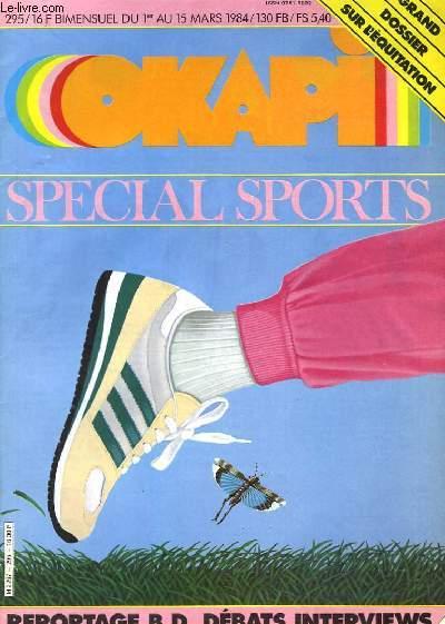 OKAPI - SPECIAL SPORTS