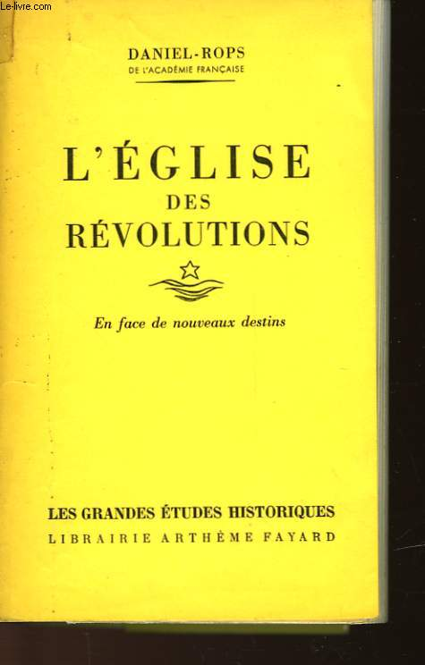 L'EGLISE DES REVOLUTIONS