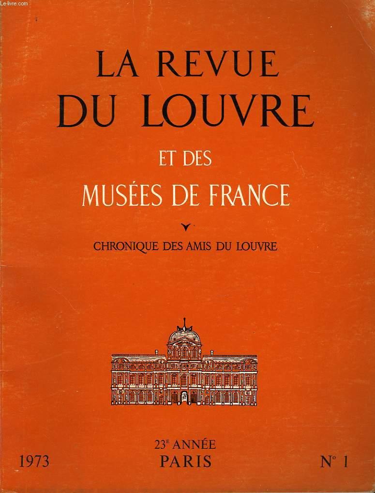 LA REVUE DU LOUVRE ET DES MUSEES DE FRANCE - N°1