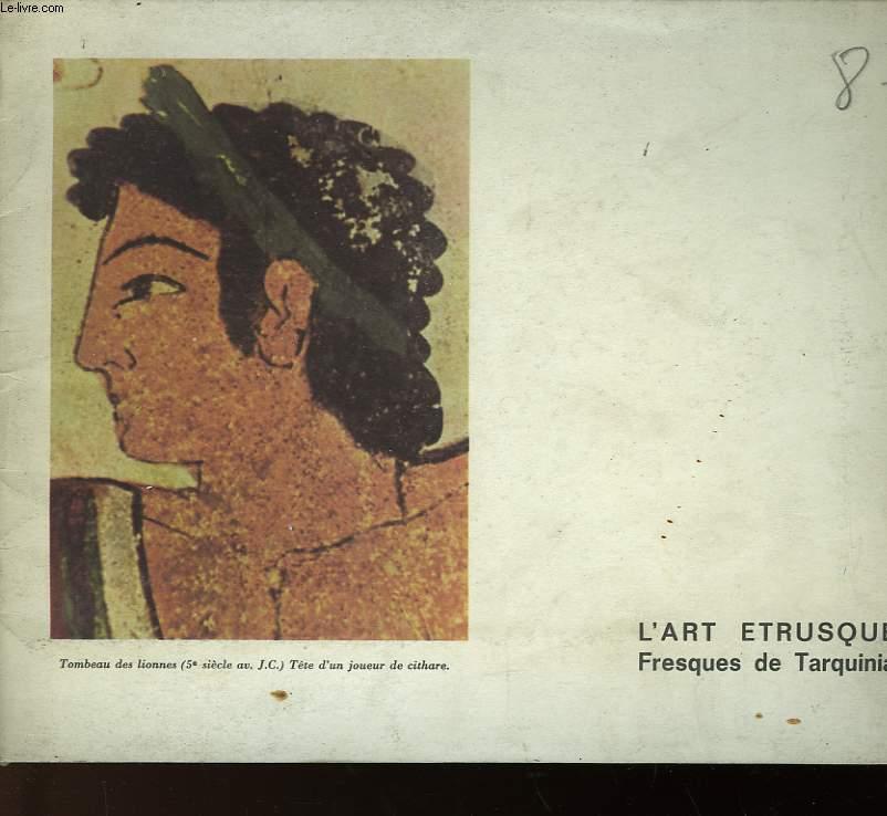 L'ART ETRUSQUE - FRESQUES DE TARQUINIA