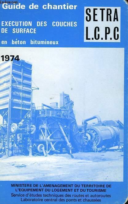 GUIDE DE CHANTIER 1974