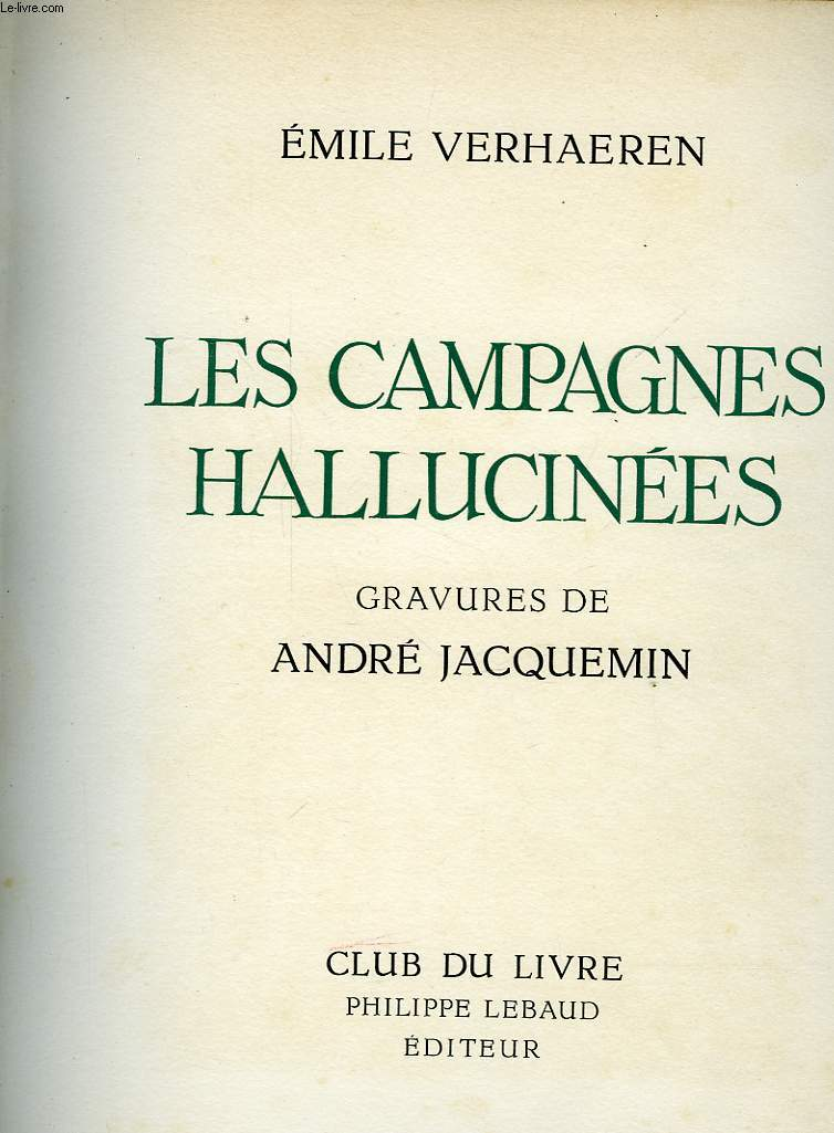 LES CAMPAGNES HALLUVINEES