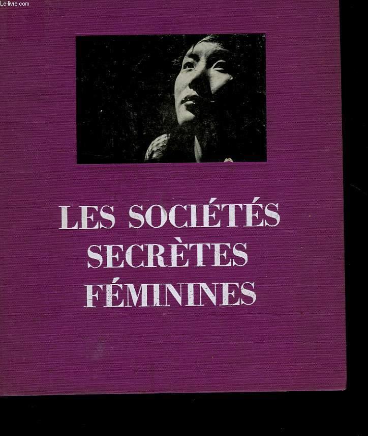 LES SOCIETES SECRETES FEMININES