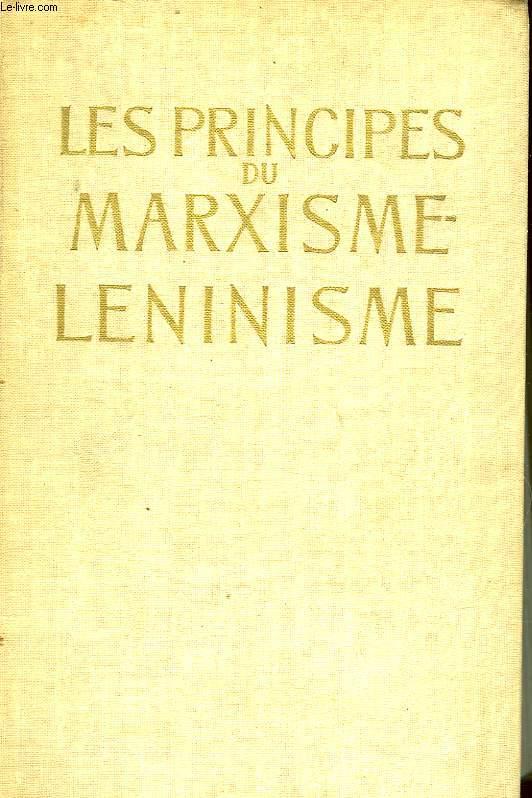 LES PRINCIPES DU MARXISME LENINISME