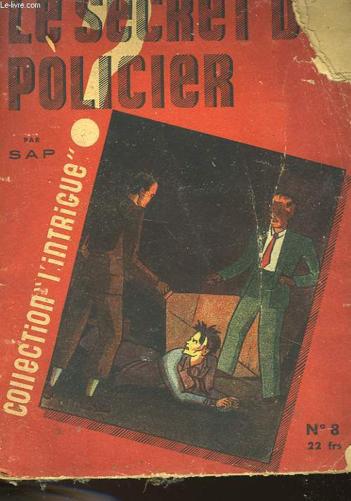 LE SECRET POLICIER - N°8
